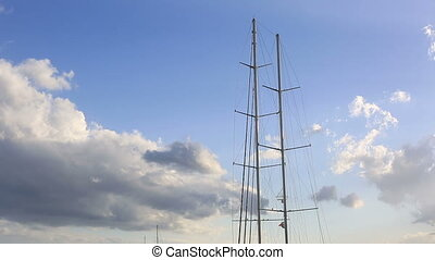 luxurious sail ship 1 - luxurious sail ship waiting very...