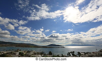 Bodrum Bay - very famous place travel destination at Bodrum...