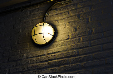 Pathway or wall light for building or house