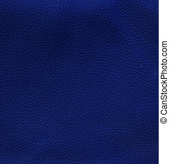 Blue leather texture for background