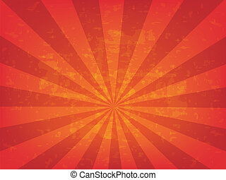 Radial background vector illustration