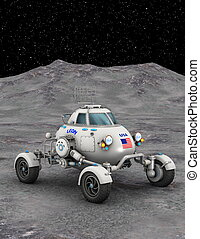 space rover - image of space vehicle
