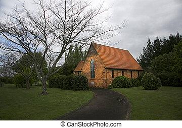 hamilton,  gordonton, Zelanda, nuovo, chiesa