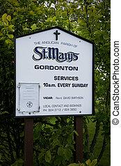 hamilton, Zelanda, santo, chiesa, nuovo,  marys,  gordonton