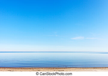 Baltic sea - Calm and blue Baltic dea