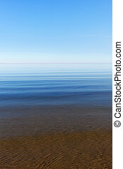 Baltic sea. - Calm and blue Baltic dea.