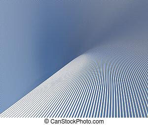 Fantastic shapes background