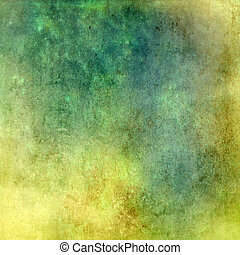 Green-yellow abstract background texture