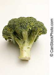 Brocoli isolated on a kitchen bench