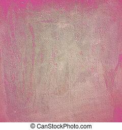 ピンク, 抽象的, グランジ, 背景