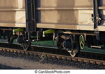 substr(Railway,0,200) - substr(Freight wagons on the railway...