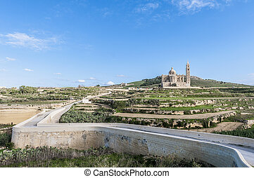 Ta Pinu church near Gharb in Gozo, Malta - The National...