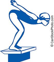Swimmer - swimmer