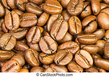 Roasted coffee beans - Fine selected roasted coffee beans...