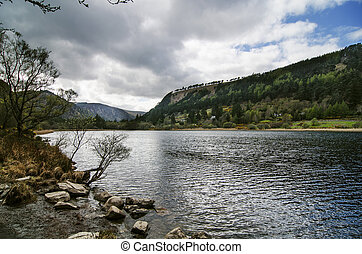 Upper lake in Glendalough Valley, Wicklow