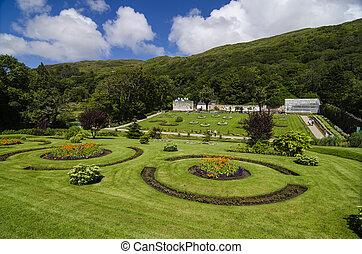 Victorian Walled Garden, Galway Ireland