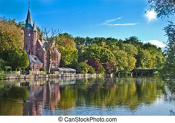 Beautiful Scene in Brugge