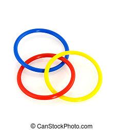 Magic rings - Magic plastic rings