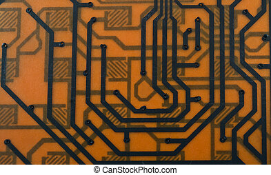 microcircuit - a background is as a microcircuit