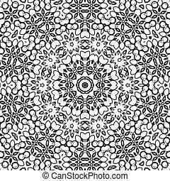 Medallion circular design. Vector illustration.