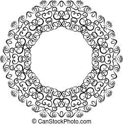 Circullar border frame o