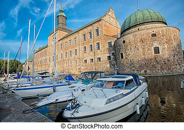 Vadstena Castle, Sweden - A summer evening at Vadstena...
