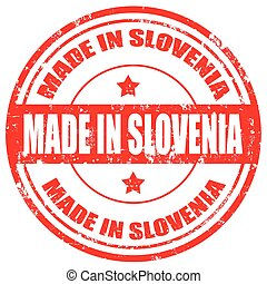 Made in Slovenia-stamp