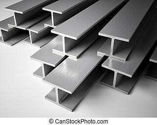 Structural steel - 3d image of Structural steel