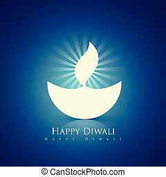 happy diwali design - beautiful happy diwali diya background