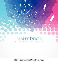 happy diwali greeting - colorful stylish happy diwali indian...