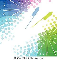 happy diwali festival - colorful happy diwali festival...