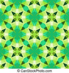 Multicolor geometric pattern in bright green. - Texture for...