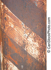 Rust metal pattern for background