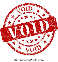 void grunge round red stamp