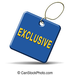 exclusive offer edition or VIP treatment rare high quality...
