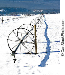 Irrigation System in Winter