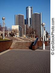 Downtown Detroit Archetcture - Buildings in downtown detroit...