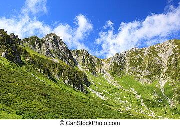 Japão, Alpes, Senjyojiki, Carl