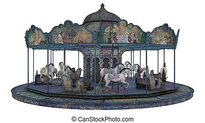 merry-go-round  - image of merry-go-round