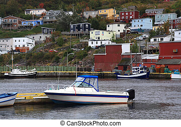 Village of Petty Harbor Newfoundland. - One of the oldest...