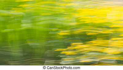 nature background - green and yellow nature background