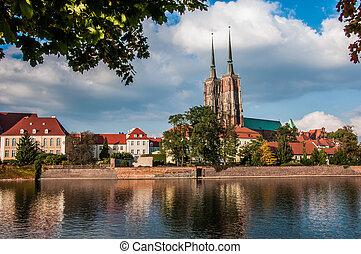 Beautiful sunny day in Wroclaw - Wonderful city of Wroclaw