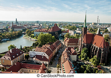 Magic old town of Wroclaw, Poland - Wonderful city of...
