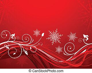abstract artistic christmas background vector illustration