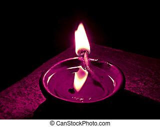 Flame, Diya