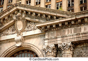 Classic Architecture - Fancy design elements in old style...