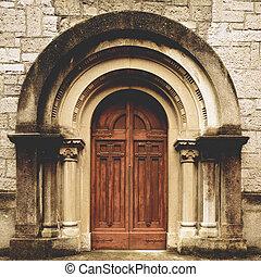 門, 教堂