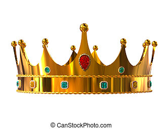 dourado, coroa