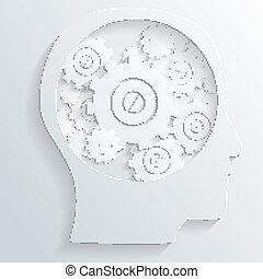 mechanism in head vector