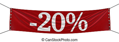 Big -20 Banner clipping path - Big -20 Banner Image with...